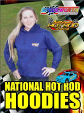 NATIONAL HOT ROD NAVY BLUE HOODIES